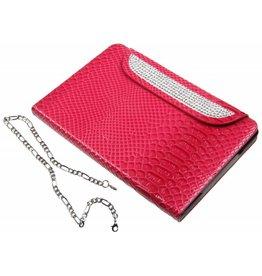 iPad Mini / 2 / 3 Portable Protective Case Glitter Dark Pink