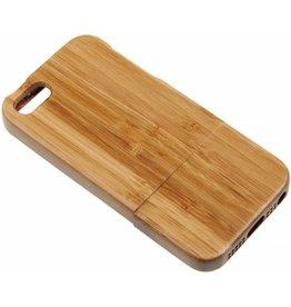 iPhone 5 / 5C / 5S / SE Wood Hard Case Light-Brown