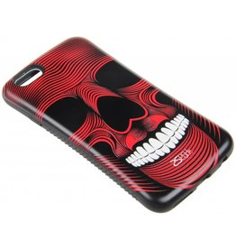 iPhone 6 / 6S Hard Case (Red Skull Print)