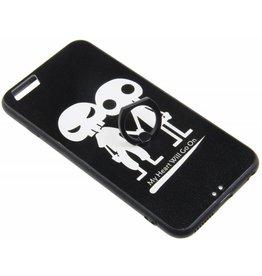 iPhone 6 Plus / 6S Plus Ring Hard Case (2 Skulls)