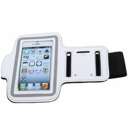 iPhonea 5 / 5C / 5S / SE Workout Sport Arm Band Case White