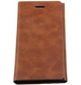 iPhone 6 / 6S Joyroom Book Case Brown