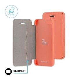 BeHello iPhone 5 / 5S / SE Book Case Coral