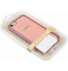 iPhone 6 / 6S U.R.V. TPU Case with Pink Edge Pink