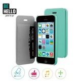 BeHello iPhone 5C Book Case Green