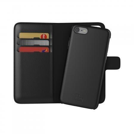 BeHello iPhone 7/6S/6 2-in-1 Wallet Case Black
