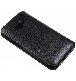HTC One M7 SwitchEasy Book Case+Screenprotector Black