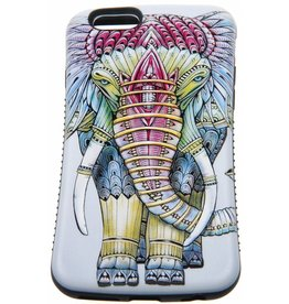iPhone 6 / 6S Hard Case (Elephant Print)