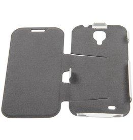 Samsung Galaxy S4 Muvit Flip Book Case with Stand White