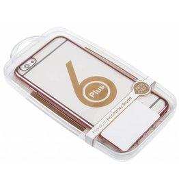 iPhone 6 Plus / 6S Plus H.Q. TPU Case with Rose Edge TPU Transparent