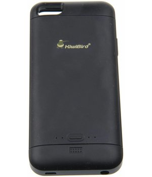 iPhone 5/5S/SE KiwiBird Power Case 2.000 / 2.500 mAh Black