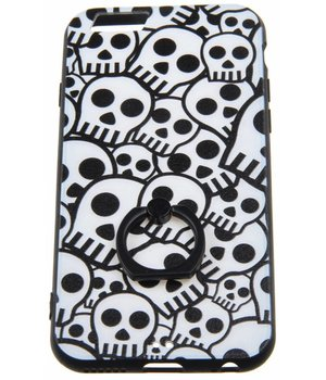 iPhone 6/6S Ring Hard Case Skulls