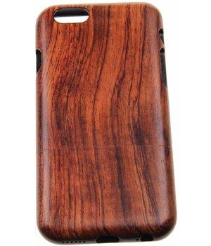 iPhone 6/6S Wood Hard Case Dark-Brown