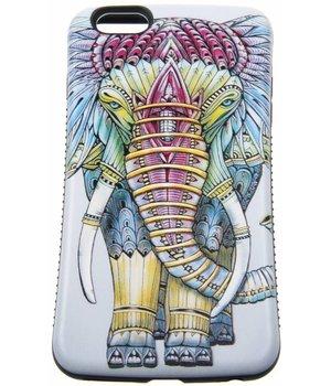 iPhone 6 Plus/6S Plus Hard Case (Elephant Print)