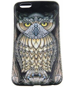 iPhone 6 Plus/6S Plus Hard Case (Owl Print)
