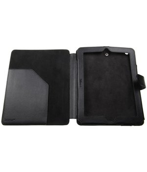 iPad 2/3/4 Trust 10'' Case with Stand+Stylus Pen Black