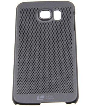 Samsung Galaxy S6 SM-G920F Smart Smiley Hard Back Case Tiny Holes