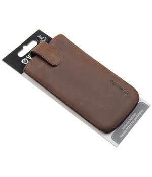 Valenta Pocket Lucca Case Size XL Brown