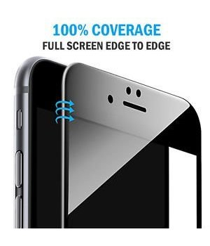iPhone 6 Tempered Glass 3D Curved Black