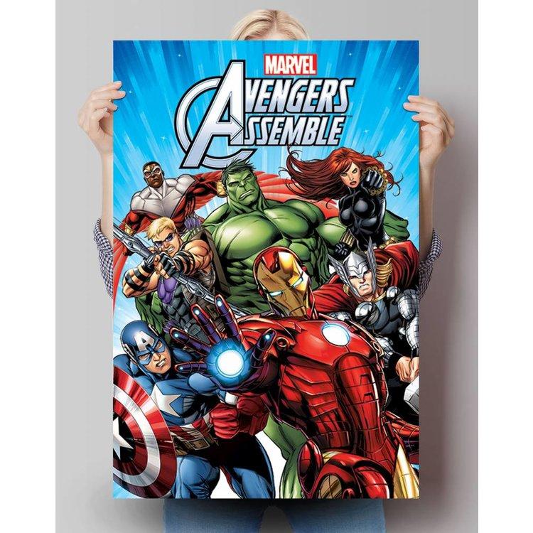 Avengers Groep - Poster 61 x 91.5 cm