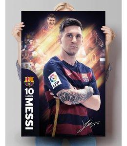 Poster Lionel Messi Barcelona