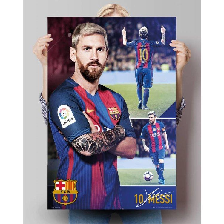 Lionel Messi Barcelona  - Poster 61 x 91.5 cm