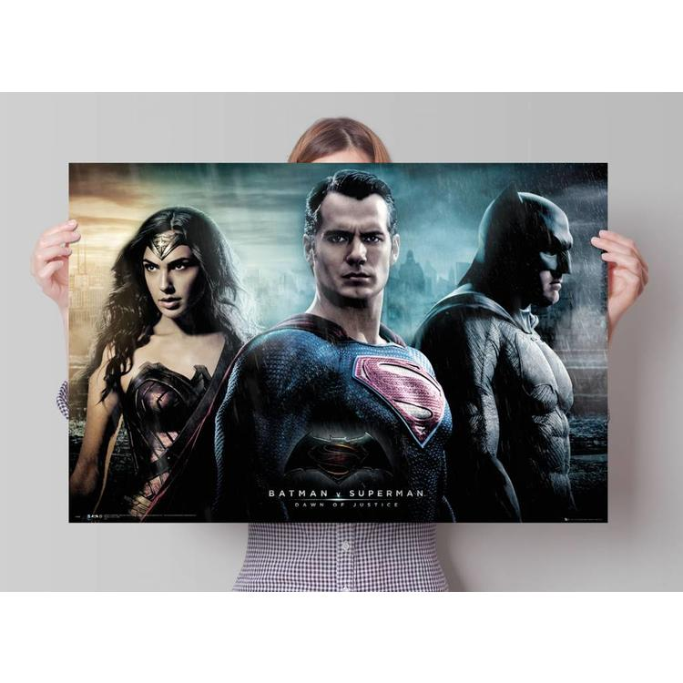 Batman vs. Superman - stad  - Poster 91.5 x 61 cm