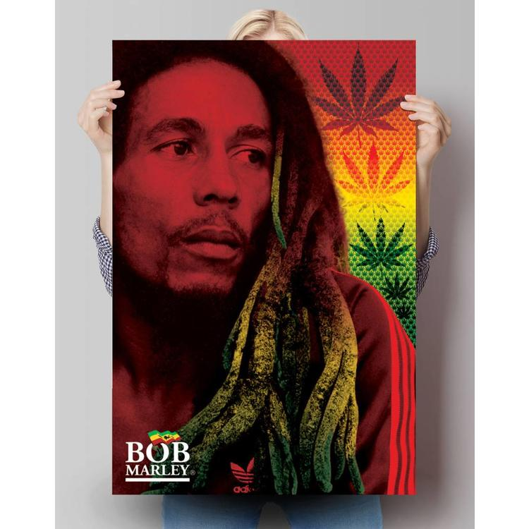Bob Marley Dreadlocks - Poster 61 x 91.5 cm