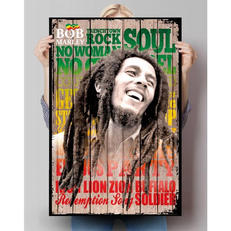 Bob Marley hits - Poster 61 x 91.5 cm
