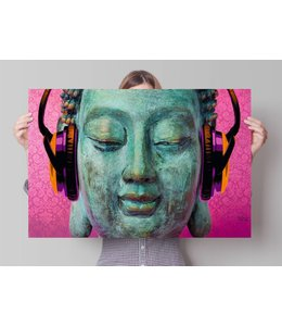 Poster Michael Tarin boeddha muziek chill