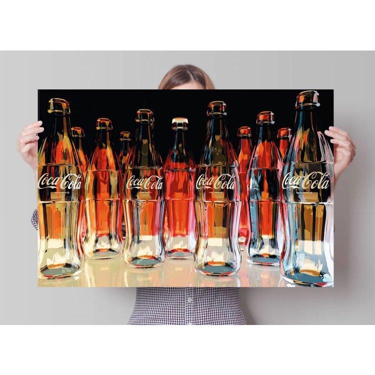 Coca-Cola flessen  - Poster 91.5 x 61 cm