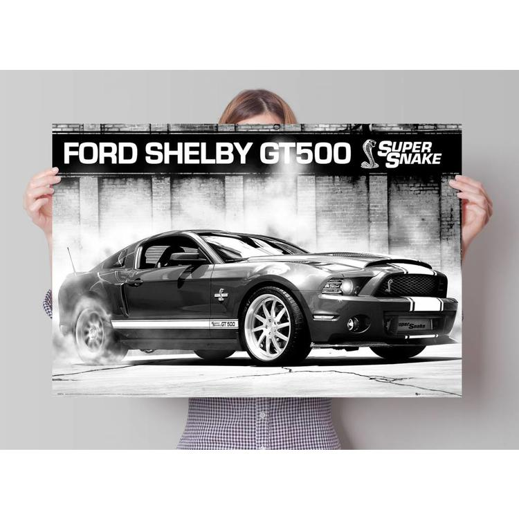 Ford Shelby - GT500 supersnake  - Poster 91.5 x 61 cm