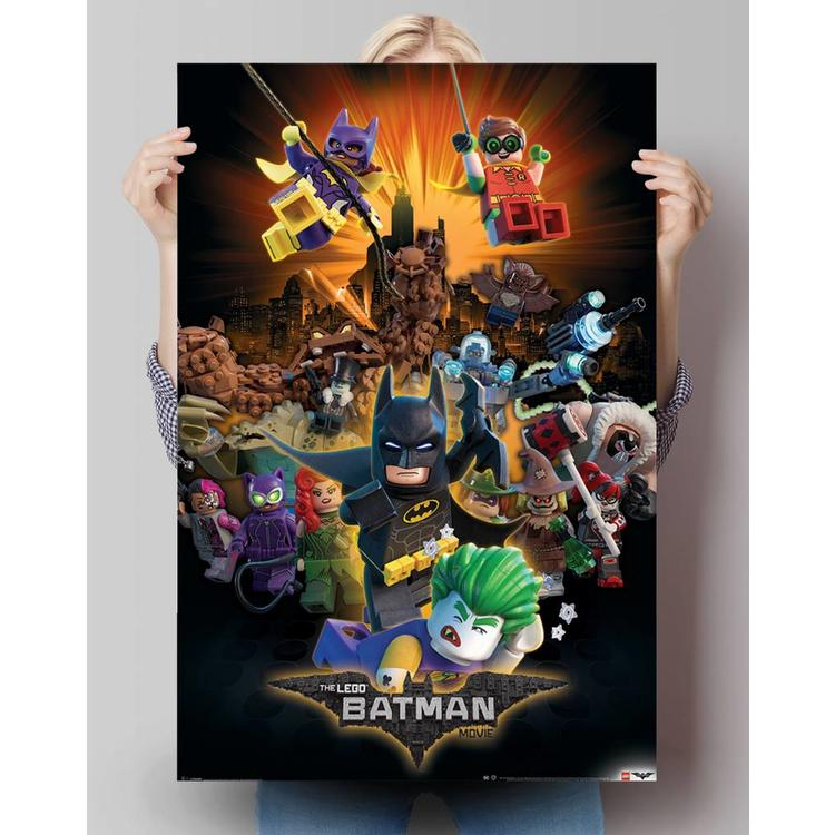 Lego Batman  - Poster 61 x 91.5 cm