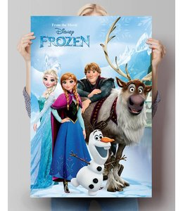 Poster Figuren uit Frozen