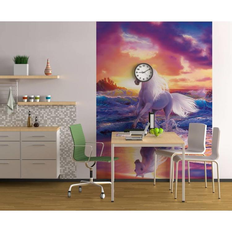 Paard  - Fotobehang 183 x 254 cm
