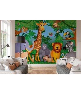Fotobehang Jungle beesten