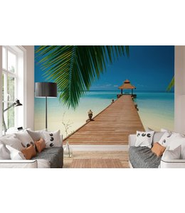 Fotobehang Paradijselijk strand