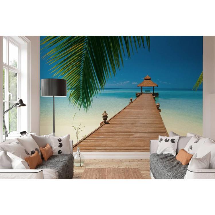 Paradijselijk strand  - Fotobehang 366 x 254 cm