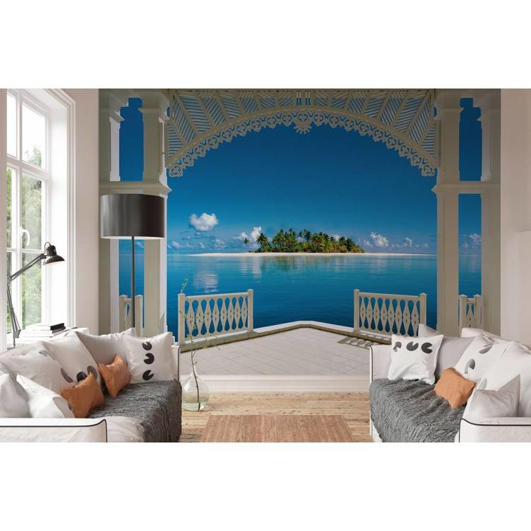 Tropisch eiland Perfect - Fotobehang 366 x 254 cm