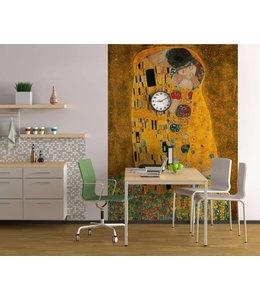 Fotobehang Klimt, De Kus