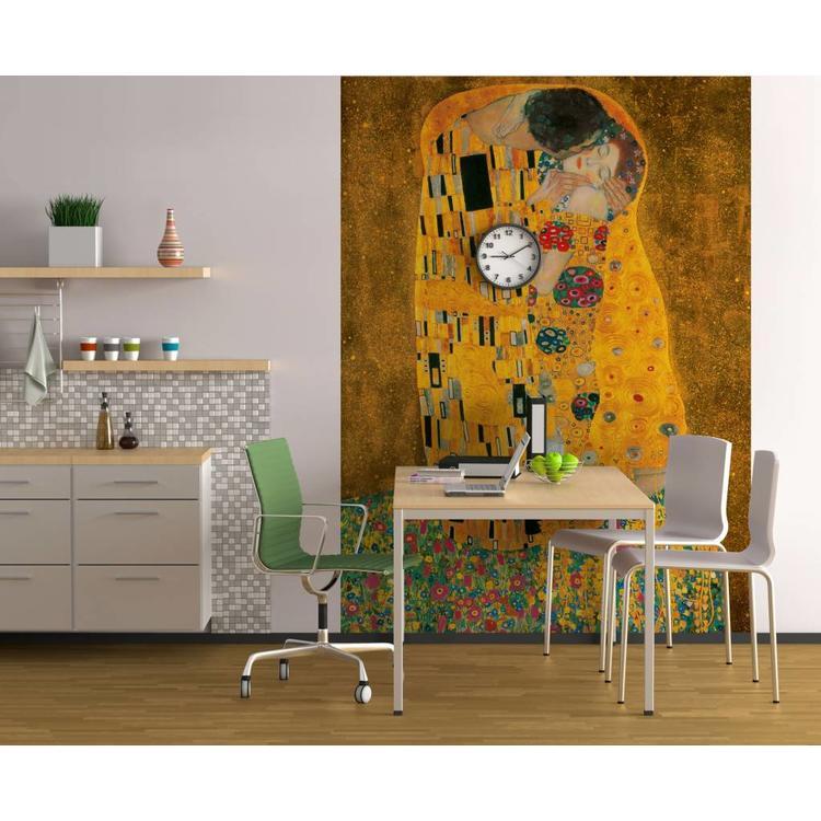 Klimt, De Kus  - Fotobehang 183 x 254 cm