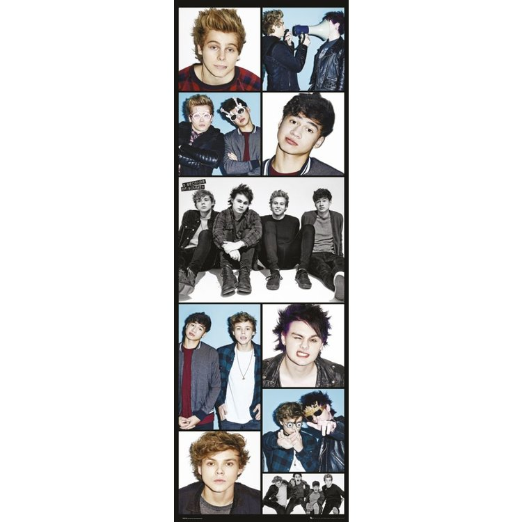 5 Seconds of Summer  - Poster 53 x 158 cm