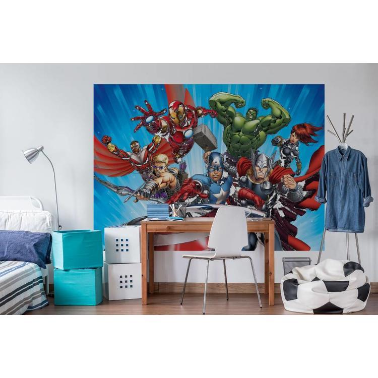 Avengers  - Fotobehang 254 x 184 cm