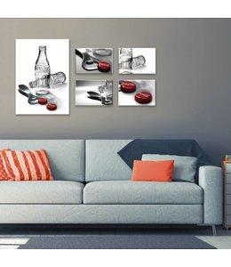 Canvas Set Coca-Cola