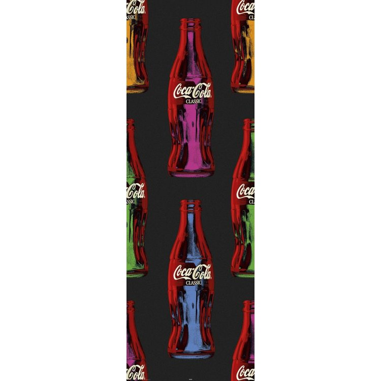 Coca-Cola popart  - Poster 53 x 158 cm