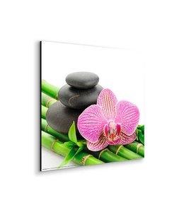 Schilderij Zen Roze