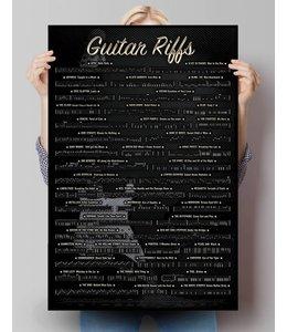 Poster Gitaar riffs