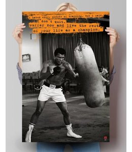 Poster Muhammad Ali - hated every minute