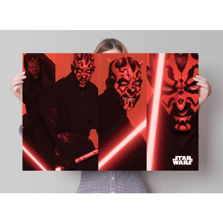 Star Wars darth maul  - Poster 91.5 x 61 cm