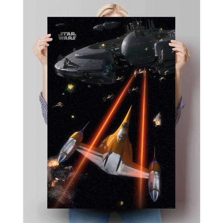 Star Wars ruimte oorlog  - Poster 61 x 91.5 cm